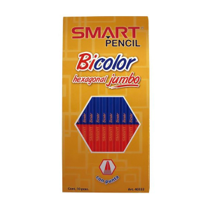 Bicolor delgado hexagonal marca Smart