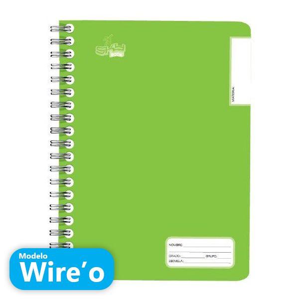 Cuaderno profesional Wire O de espiral Sky Book