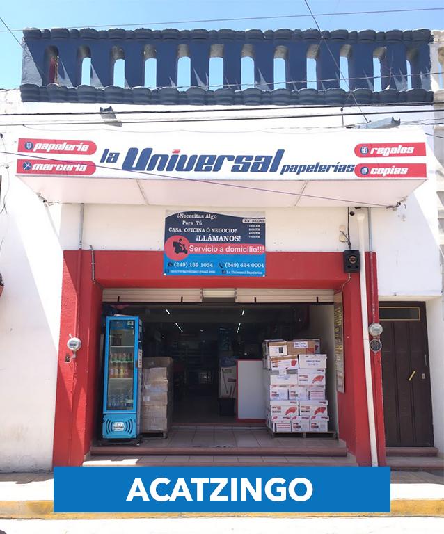 La Universal Papelerias - Sucursal Acatzingo (1)