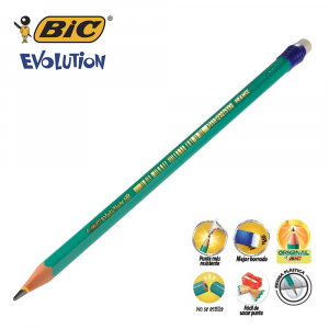 Lápiz Evolution No 2 Conte Bic